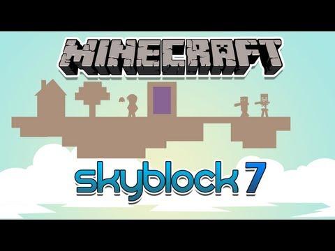 SkyBlock  #7: Viagem para o Nether!