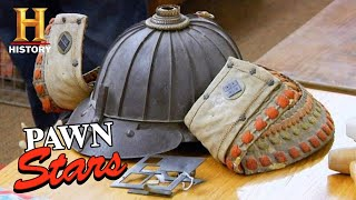 Pawn Stars: SHOCKING VALUE for 300-Year-Old Samurai Helmet (Trip to Sturgis Part 2) | History