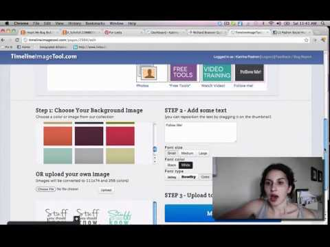 How to change your Facebook App Image