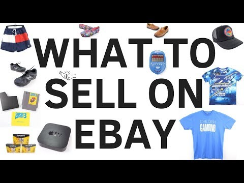 BOLO List of 35 Profitable Items to SELL ON EBAY in 2018