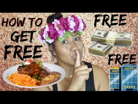 How to get Free Cash, Food & Hotel Room in 1 Day!