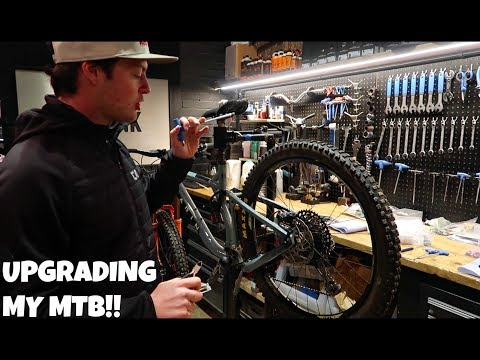 ENDURO MTB UPGRADES!!