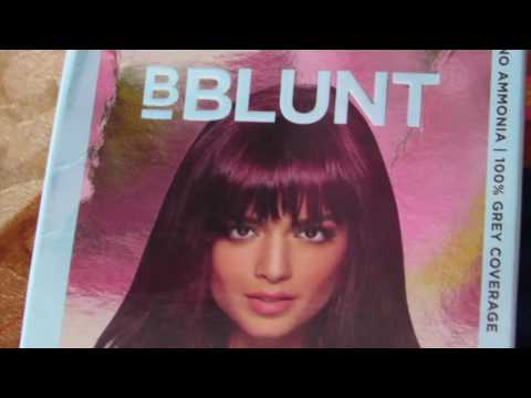 I RUINED MY HAIR with BBlunt Salon Secret High Shine Creme Hair Color in WINE Deep Burgundy