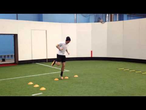 Soccer: Plyometric (Jump Training) drill for explosive movement