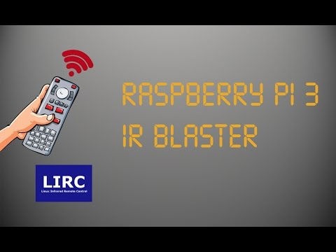 Raspberry Pi 3 IR Blaster (LIRC)