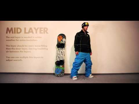 Learn How To Dress Right For Snowboarding | Guide To Getting Layered
