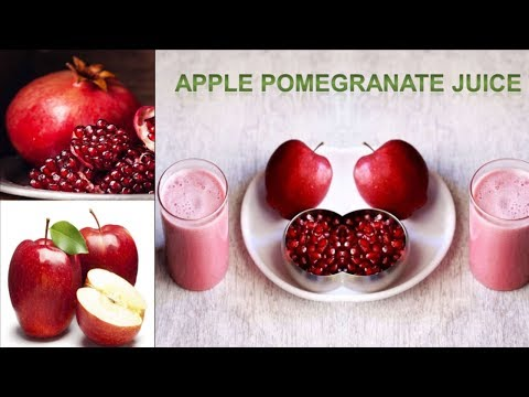 Apple Pomegranate Juice, If You Drink this Juice Everyday; This Is   What Happens To Your Body