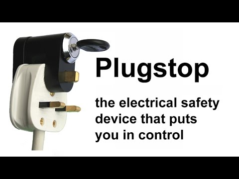 UK Electrical Plug Safety Device by Plugstop