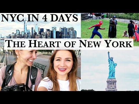 MINI-GUIDE NYC in 96hrs I Manhattan, Brooklyn, Central Park, Statue of Liberty I ANNI LALAS TRAVEL