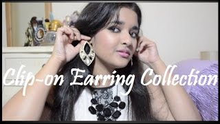 My Clip-On Earring Collection