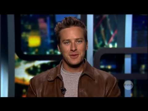 Armie Hammer interview on The Project (2013) - The Lone Ranger