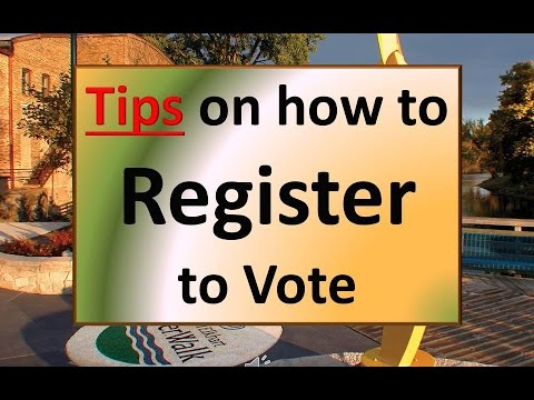 Voter Registration Tips for Indiana