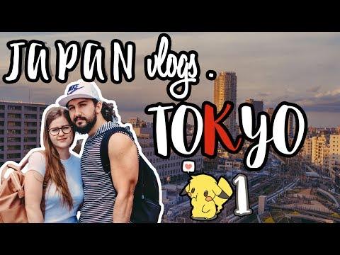 WE're in TOKYO ❤️ | JAPAN VLOG #1
