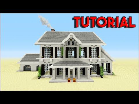 Minecraft Tutorial: How To Build A Suburban House | Top House 2016