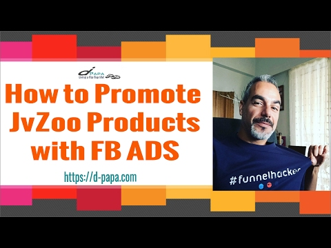 How To Promote JVZOO Products with Facebook Ads   Free Training