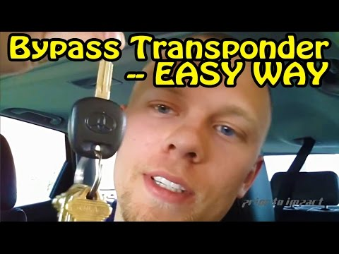 Transponder Chip Key Bypass How To For Any Car