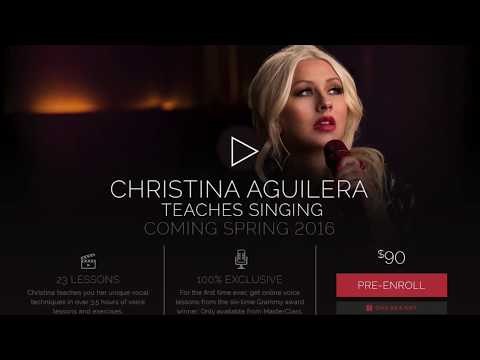 Christina Aguilera's MasterClass Review for Singers - Part 2