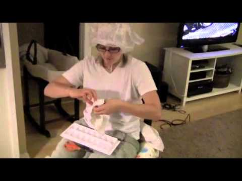 How-to Make a Diaper Ice Pack AND Get Your Hair Colored