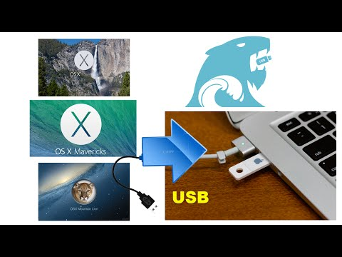 OS X USB PEN DRIVE INSTALLER TUTORIAL