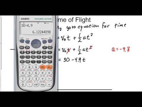 Physics Time of Flight Summary