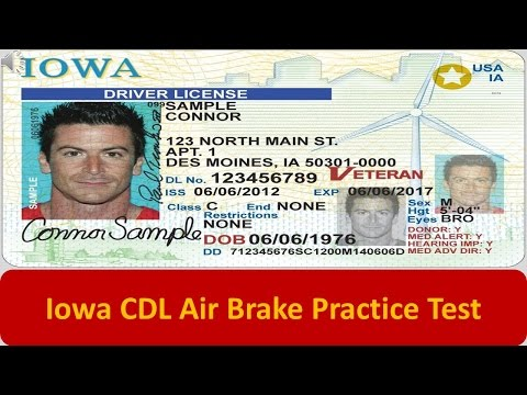Iowa CDL Air Brake Practice Test