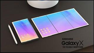 INTRODUCING SAMSUNG GALAXY X 2017 ll THE FOLDABLE SMARTPHONE!!