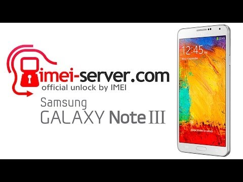 Unlock Samsung Galaxy Note 3 by IMEI: N900, N9005, SM-N900