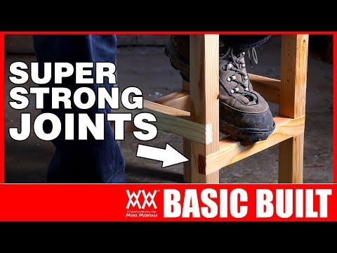 Shop Stool: Build your woodworking skills with this basic technique.