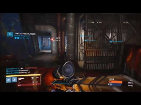 Destiny GLITCH! THREE SPARK RUNNERS AT THE SAME TIME! RIFT