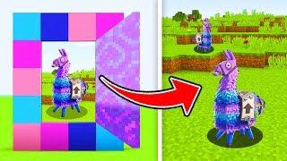 minecraft how to make a portal to the fortnite llama dimension ps3 xbox360 - llama de fortnite minecraft