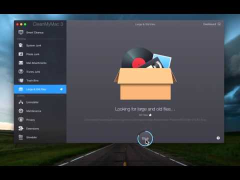 Remove Large and Old files from your Mac with CleanMyMac