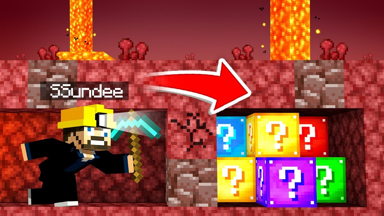 LUCKY BLOCKS *DIG* For Our LOOT in Minecraft