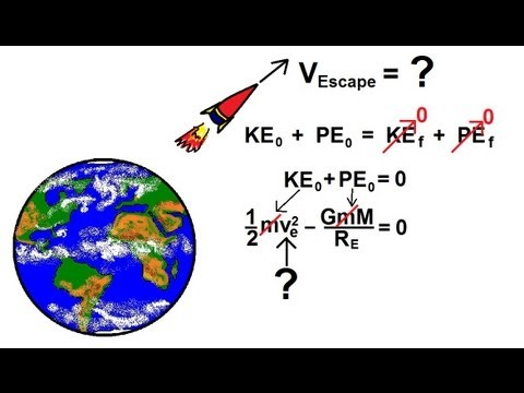 Physics - Mechanics: Gravity (20 of 20) What is Escape Velocity?