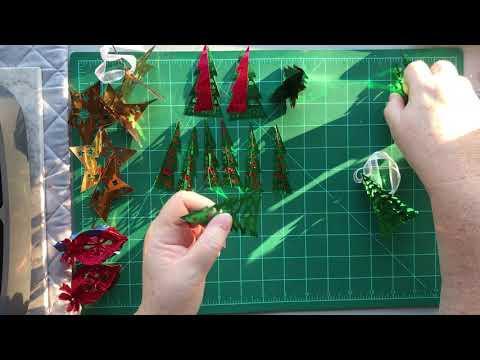 Cricut 3D Ornaments Assembly