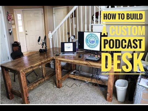 How to build a custom Podcast Desk