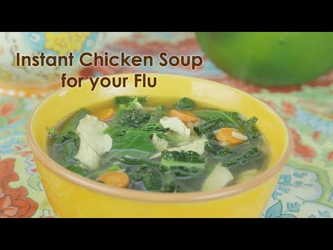 Instant Chicken Soup for the Flu