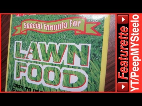 Lawn Care Food to Aid Grass Seed & Aerator Maintenance Work Along w/ Fertilizer For Lawns