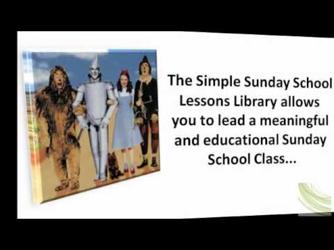 Simple Sunday School Lessons Uses Sound Bible Studies