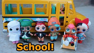Download LOL SURPRISE DOLLS Go To Halloween School Assembly Video