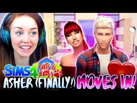 MAJOR HOUSE OVERHAUL!😍 + ASHER MOVES IN! (The Sims 4 CATS & DOGS #15🏖)