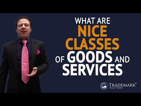 What Are Nice Classes of Goods and Services?  | Trademark Factory® FAQ