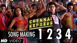"""1234 Get on the Dance Floor"" Song Making Chennai Express | Shah Rukh Khan & Priyamani"