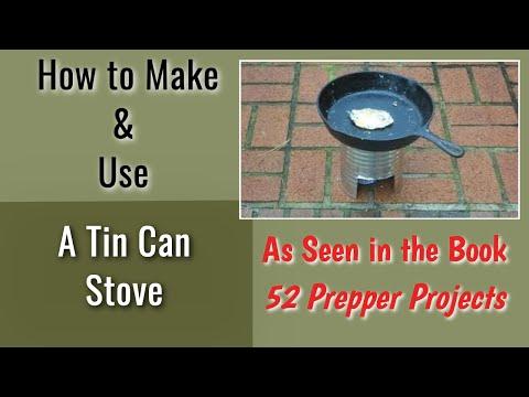 Tin Can Stove