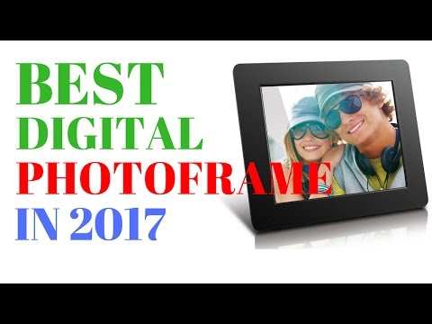 Best Digital Photoframe | Top 5 Digital Photoframe for your Family in 2017