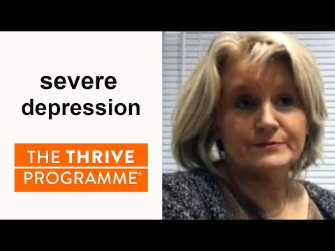 After years of severe depression & being off work, Joan turned her life around in a few weeks!