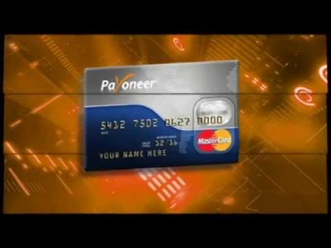 Payoneer, How To Get Your Free Debit Card & Activate Paypal Account  Payoneer Prepaid Master Card  +