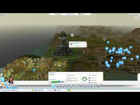 Sim City 5 - Tips and Tricks - Making Money with the Arcology and Electronics
