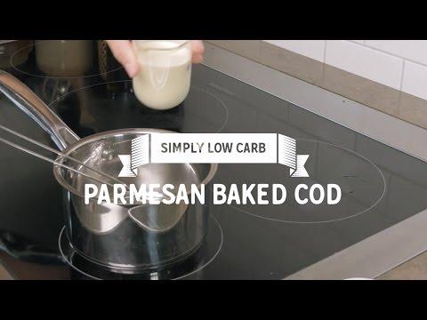 Parmesan Baked Cod (Low Carb)