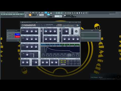 How to Make Migos T-Shirt Synth Bass using Native Instruments Massive