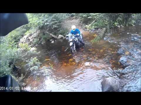 KDX dirt ride - Keswick NB